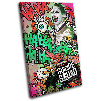 Suicide Squad Killer Croc Movie Poster SINGLE CANVAS WALL ART Picture Print
