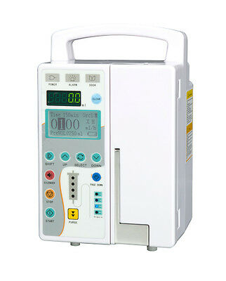 LCD Sreen Infusion Pump IV & Fluid Administration Audible + visual alarm DHLSale
