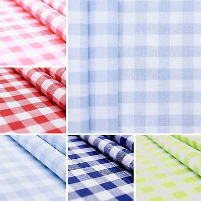 Centro chequered 1x1cm - cotton fabric with woven check pattern - by the metre