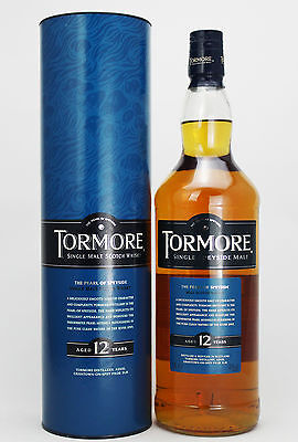Tormore 12 Year Old Scotch Whisky 1000ml