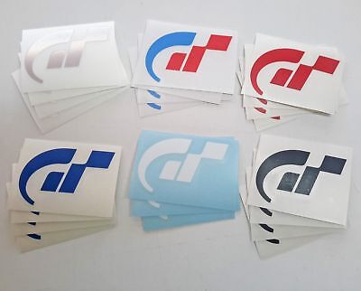 Gran Turismo GT Logo sticker - Fan made - Inspired by PS PS2 PS3 PSP video game