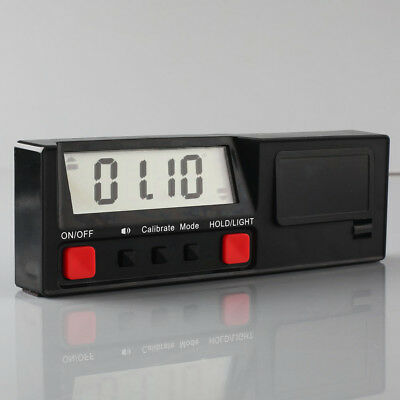 Electronic Digital Inclinometer Angle Protractor Gauge Level 360°