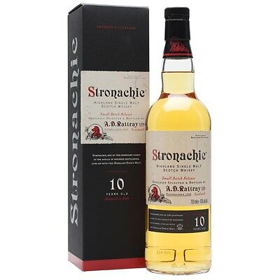 Stronachie 10 Year Old Single Malt Scotch Whisky 700mL
