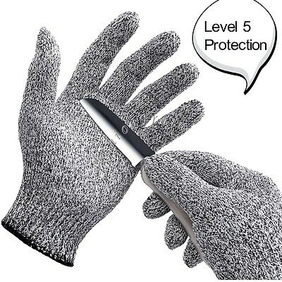 Food Grade Safety Cut Proof Stab Resistant Stainless Steel Metal Mesh Gloves
