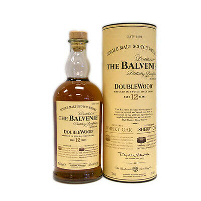 The Balvenie 12 Years Old Double Wood Single Malt Scotch Whisky