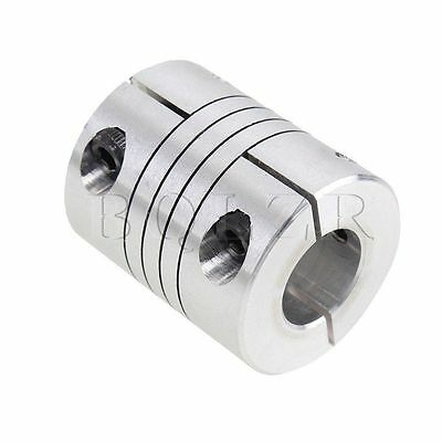 D25L30 CNC Motor Jaw Shaft Coupler 8mm To 12mm Flexible 8 x12mm Coupling Gadget