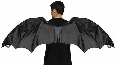 Adult Black Dragon Wings 64 inch Wingspan Halloween Costume Accessory
