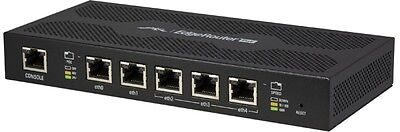 Ubiquiti EDGE-ROUTER-POE 5-Port Router Managed Advanced Security, Monitoring