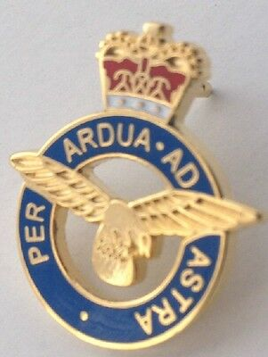 royal air force lapel badge raf airforce British Armed Forces Military ariel a