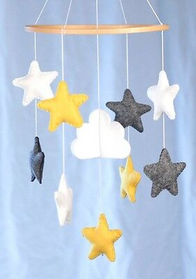 Baby Mobiles For Nursery And Cribs, airplanes  Birds, Stars And Clouds, unisex