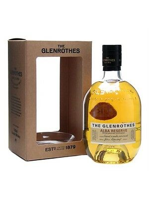 The Glenrothes Alba Reserve Single Malt Scotch Whisky 700mL