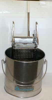 Geerpres Royal Prince Stainless Steel Bucket and  Wringer great condition