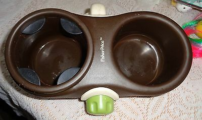 Fisher Price Stroller Cup and Snack Holder L@@K