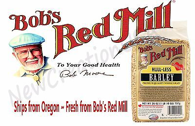 Bob's Red Mill Whole Grain Hull-Less Barley - 26 oz. Hulled
