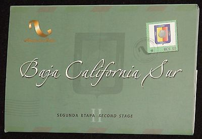 RARE- Mexico Baja California Sur 2nd Stage 180th Anniversary Silver Proof in OGP