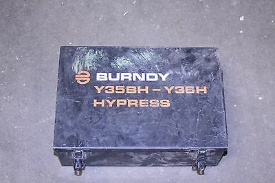 Burndy Y35Bh Dies And Metal Case
