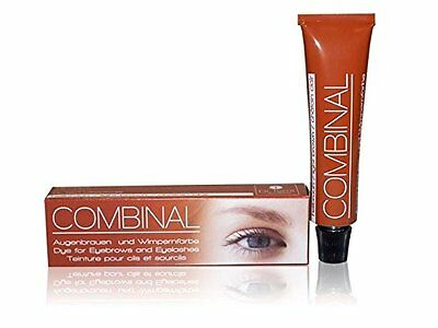 COMLBR Salon System Combinal Eyebrows and Eyelashes Tint, Light Brown 15 ml