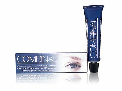 COMBLB Combinal Dye For Eyebrows and Eyelashes Blue/ Black Tint 15ml