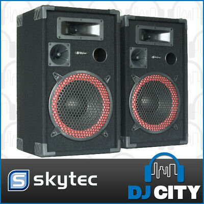 "12"" Passive Speaker pair - 700 watts peak power - Great for Home parties and ..."