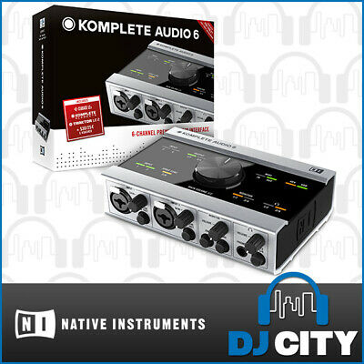 Komplete Audio 6 Native Instruments Audio Midi Interface with Software