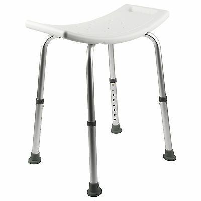 Easy Travel Portable Shower Aluminium Stool Bathroom Seat Bath Disability Aid