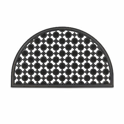 paillasson 75x45 cm tapis de sol antid rapant caoutchouc grille demi rond eur 22 80 picclick fr. Black Bedroom Furniture Sets. Home Design Ideas