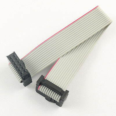 2Pcs 2.54mm Pitch 2x6 Pin 12 Pin 12 Wire Extension IDC Flat Ribbon Cable L= 20CM