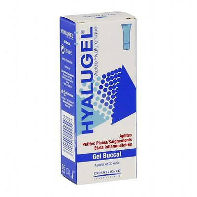 Hyalugel gel buccal plaies de la bouche tube 20ml