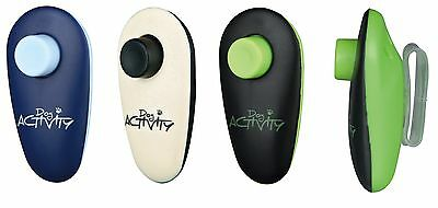 Dog Activity Finger Clicker & Band Pet Training Dogs Cats Rabbits Birds