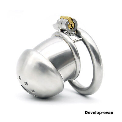 New lock 304 stainless steel Cage Chastity Device small A266