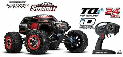 Traxxas Summit 1:8 4WD RTR Truck TQi 2.4GHz Wireless neueste Version 56076-4