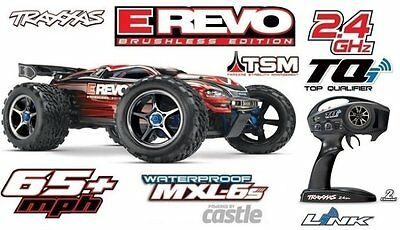 Traxxas E-Revo Brushless 1/8 4WD 2.4GHz TQi Wireless TSM neuste Version 56086-4