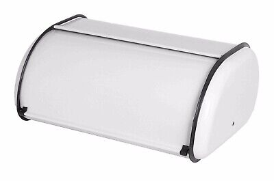 "Home Basics NEW Kitchen Storage Bread Box, White 17.5"" x 10.5"" x 6.8"" - BB40200"