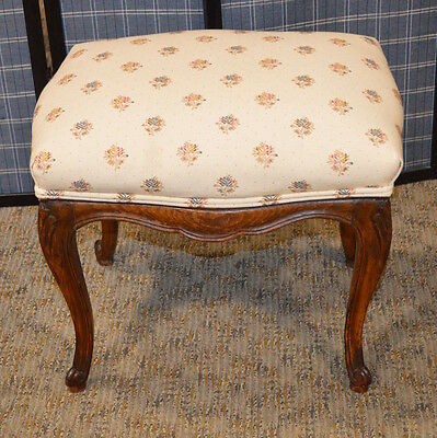 Vintage Carved French Style Bench