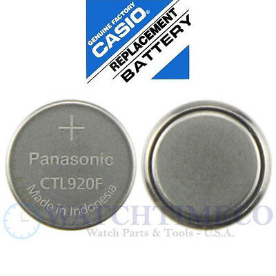 Panasonic CTL920F / CTL920 Genuine Casio Replacement Battery