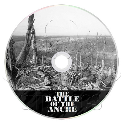 The Battle of the Ancre (1917) World War 1 Documentary DVD (Somme Sequel) (WW1)