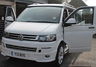 NEW VW-T5 TRANSPORTER CARAVELLE 2003 to CURRENT WIND DEFLECTORS 2 Pieces