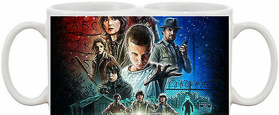 Stranger Things Tv Show And Dvd Mug 2 *great Gift* Uk Seller