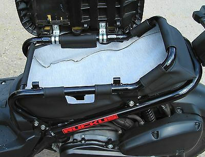 honda ruckus low seat frame  storage bag.