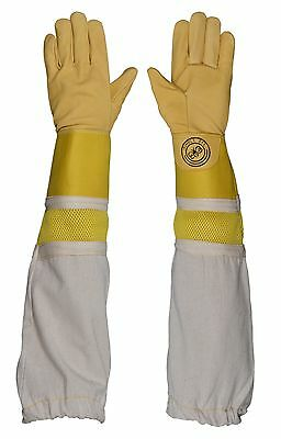 Humble Bee 115-M Beekeeping Gloves with Reinforced & Ventilated Cuffs
