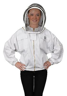 Humble Bee 311-L Polycotton Beekeeping Jacket with Fencing Veil