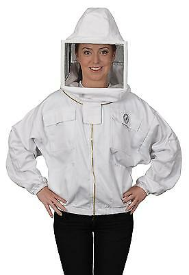 Humble Bee 312-XL Polycotton Beekeeping Jacket with Square Veil