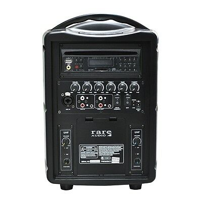 New Rare Audio 40 Watt Rechargeable Wireless PA System