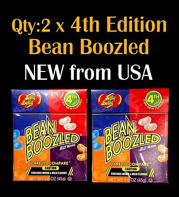 2 x Jelly Belly Bean Boozled 4th Edition 45g - bean boozled challenge