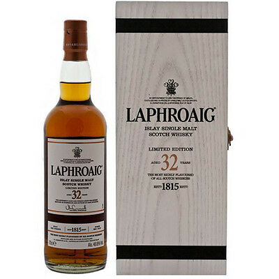 Laphroaig 32 Year Old Cask Strength Single Malt Whisky 700mL