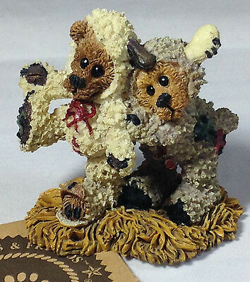 Boyds Bears, Nativity, Winkie and Dink…as The Lambs, PRISTINE