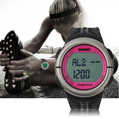 Quality Heart Rate Monitor SKMEI Sports LED Digital Watch Waterproof Sport I5