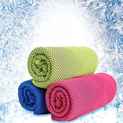 Cold Cool Running Swimming Gym Pad Instant Cooling Towel Travel Summer