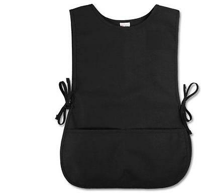 Black Salon Hairdressing Hair apron Barbers Cape  (Regular Size)