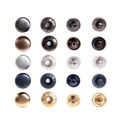 Push buttons ALFA / 15mm, Steel, S-Spring, for Fabric, Clothing,Leather, Cloth